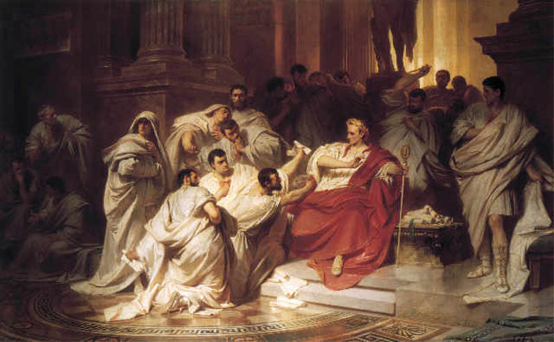 karl theodor von piloty murder of caesar 1865 This Day In History   July 13th