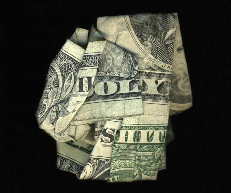 money currency art dan tague holy sht Money Talks: Amazing Dollar Bill Art of Dan Tague [21 pics]