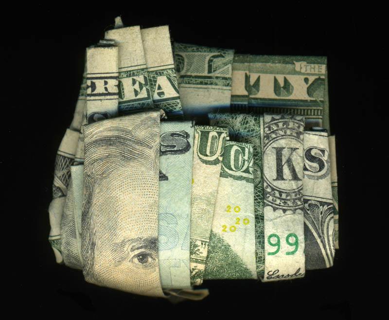 money currency art dan tague reality sucks Money Talks: Amazing Dollar Bill Art of Dan Tague [21 pics]