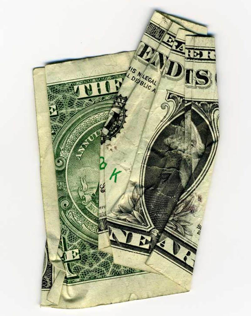 money currency art dan tague the end is near Money Talks: Amazing Dollar Bill Art of Dan Tague [21 pics]