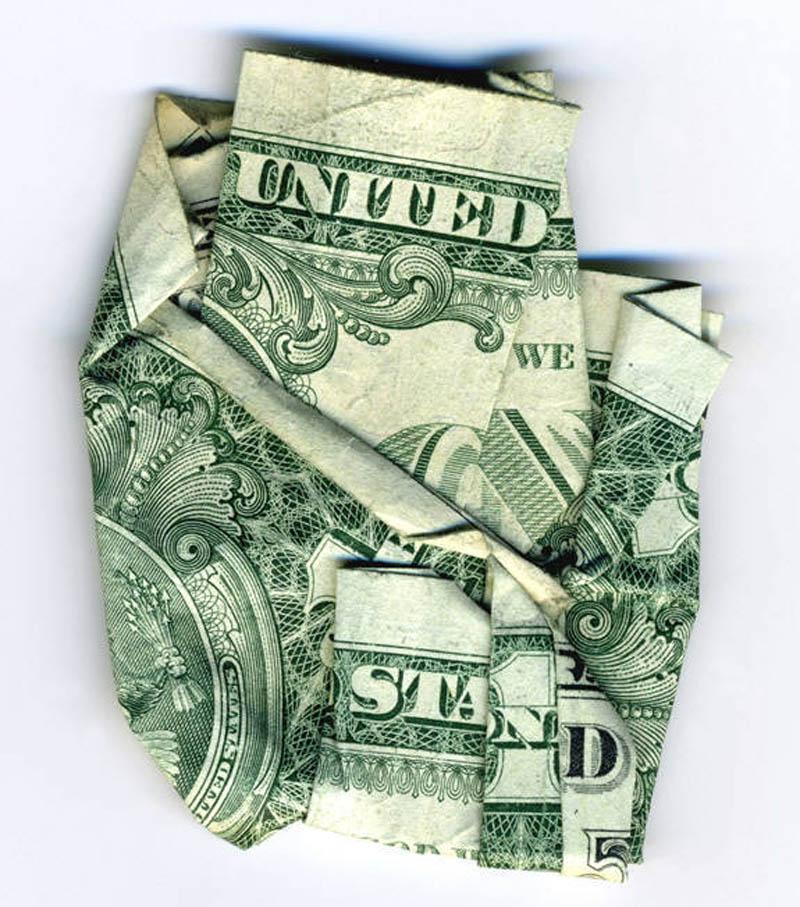 money currency art dan tague united we stand Money Talks: Amazing Dollar Bill Art of Dan Tague [21 pics]