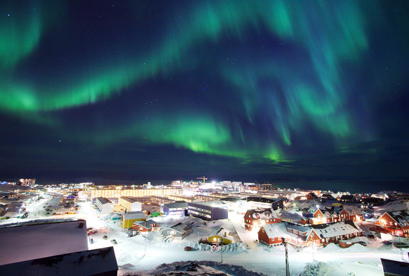 northern lights greenland rune christianse 10 Things You Didnt Know About Greenland