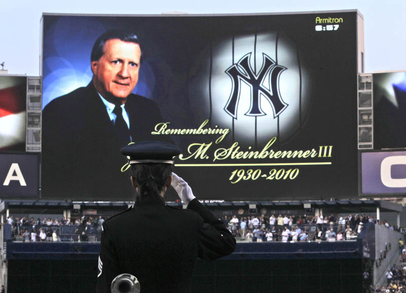 rays yankees steinbrenner tribute during game This Day In History   July 13th