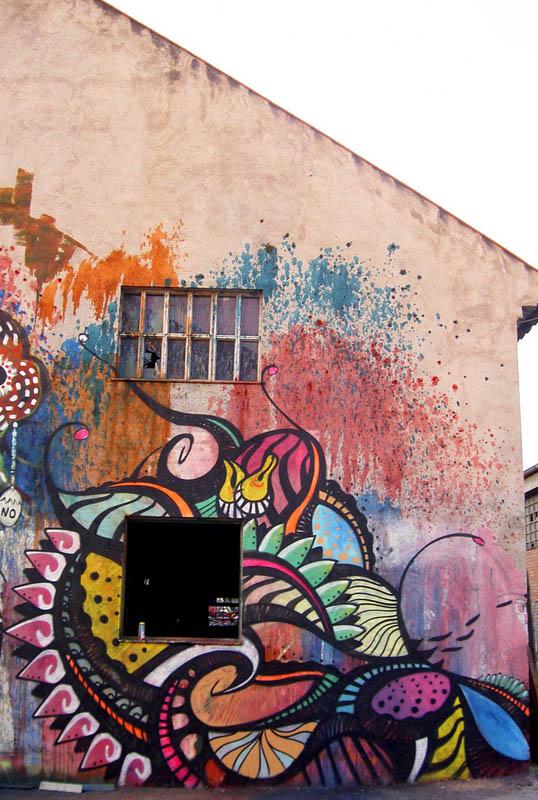 skount street art illustrations graffiti 12 Astonishing Street Art Murals by Skount