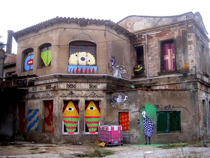 skount street art illustrations graffiti 13 Astonishing Street Art Murals by Skount