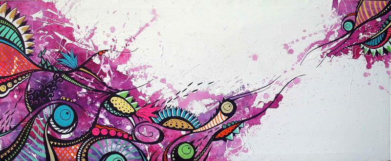 skount street art illustrations graffiti 23 Astonishing Street Art Murals by Skount