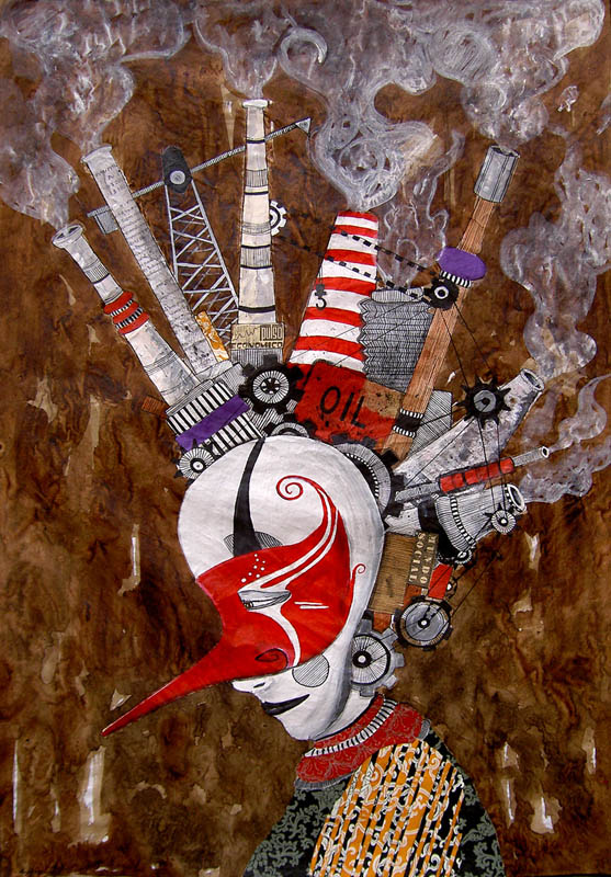 skount street art illustrations graffiti 3 Astonishing Street Art Murals by Skount