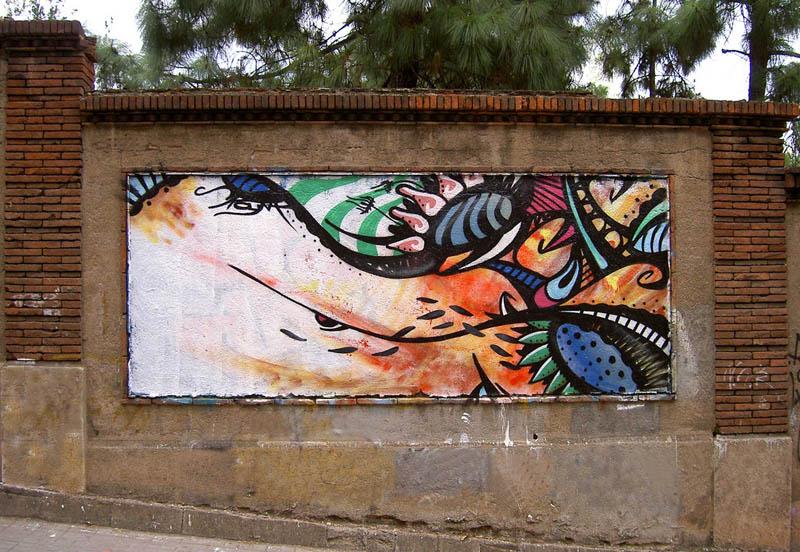 skount street art illustrations graffiti 6 Astonishing Street Art Murals by Skount