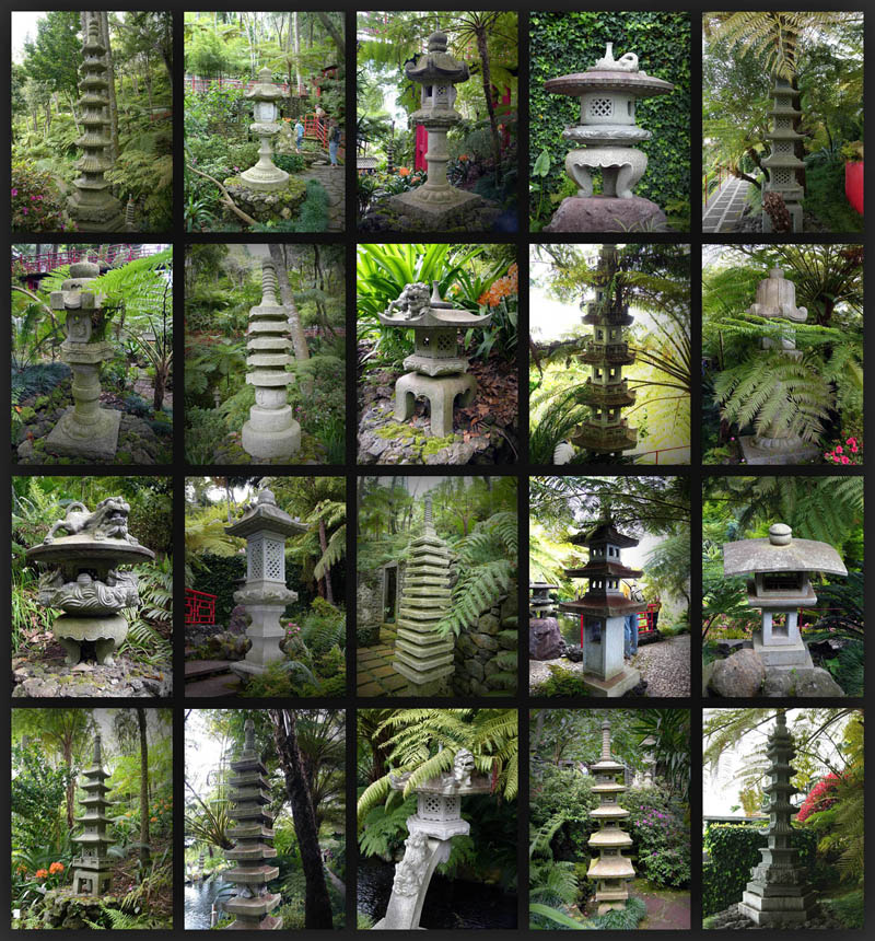 stone lantern madeira jg 20 Stunning Japanese Gardens Around the World