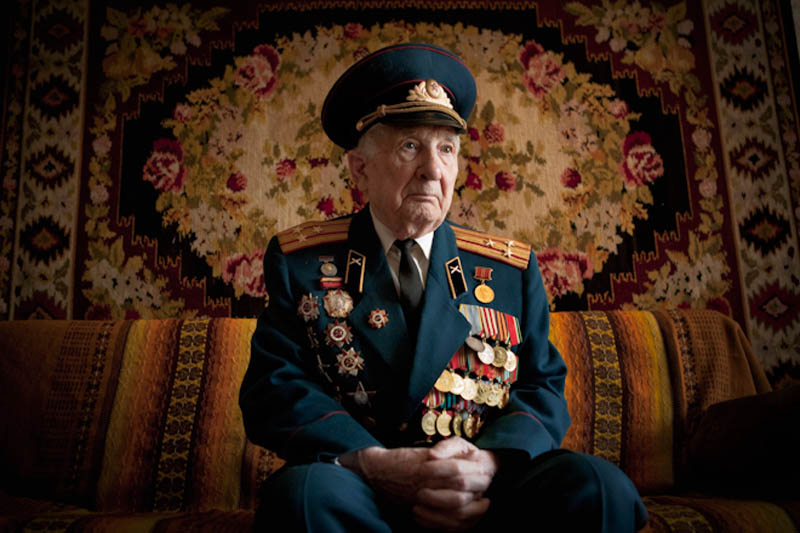 wwii veterans portraits konstantin suslov 12 Honoring the Veterans of World War II [25 pics]