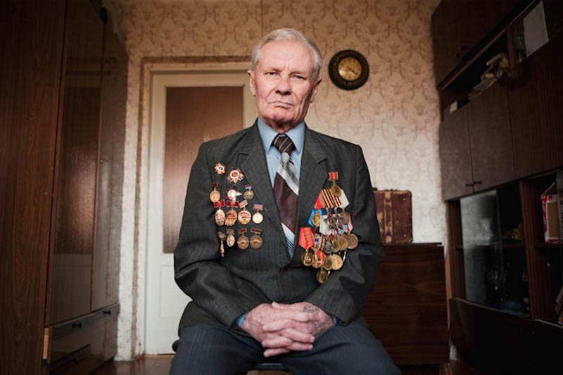 wwii veterans portraits konstantin suslov 6 Honoring the Veterans of World War II [25 pics]