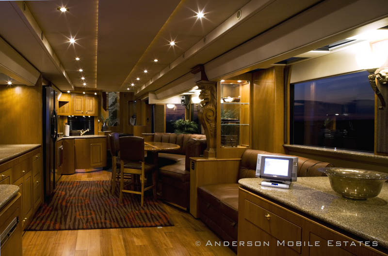 ashton kutchers trailer mobile home anderson 8 School Bus Converted Into Mobile Home