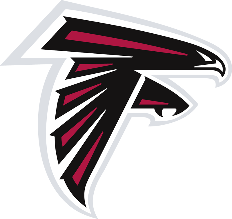 atlanta falcons logo large 20 Clever Logos with Hidden Symbolism