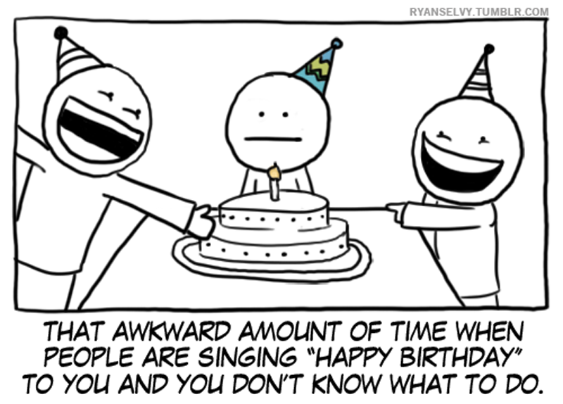 The Most Awkward Time of the Year [Comic Strip]