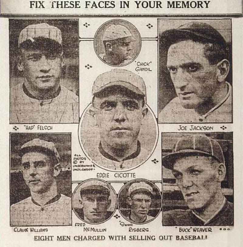 chicago black sox scandal brief summary essay