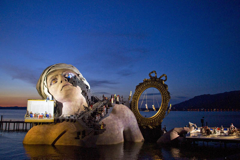 The 'Opera on the Lake' Stages of Bregenz