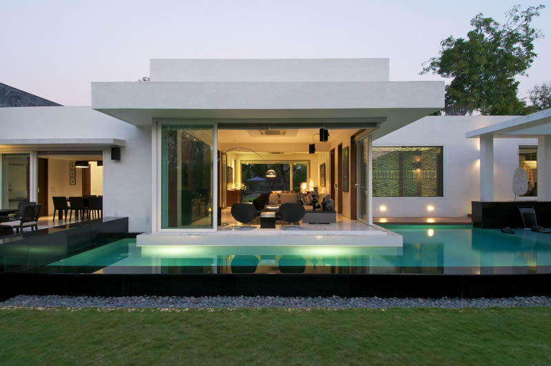 Bungalows With Swimming Pool Part - 15: Bungalow In India Dinesh Mills By Atelier Dnd 6 Beautiful Bungalow In India  By Atelier DnD