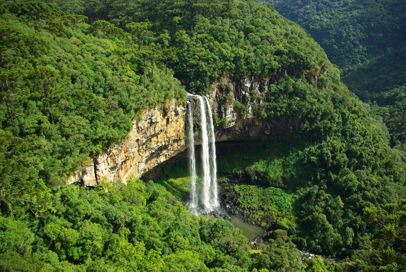 Picture of the Day: Caracol Falls, Brazil