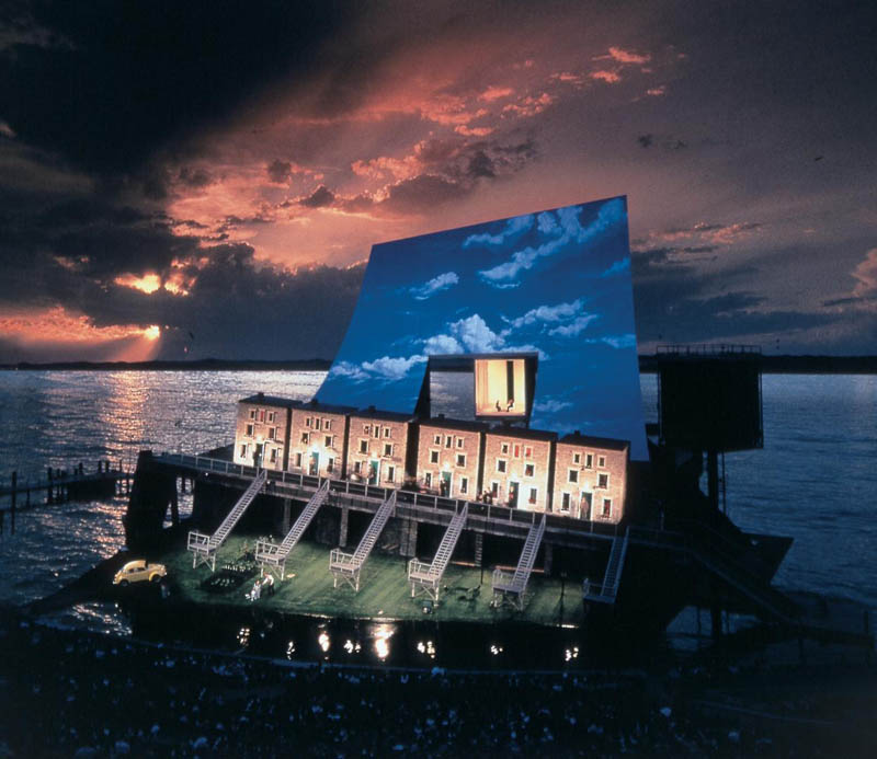 fidelio stage opera on the lake bregenz The Opera on the Lake Stages of Bregenz
