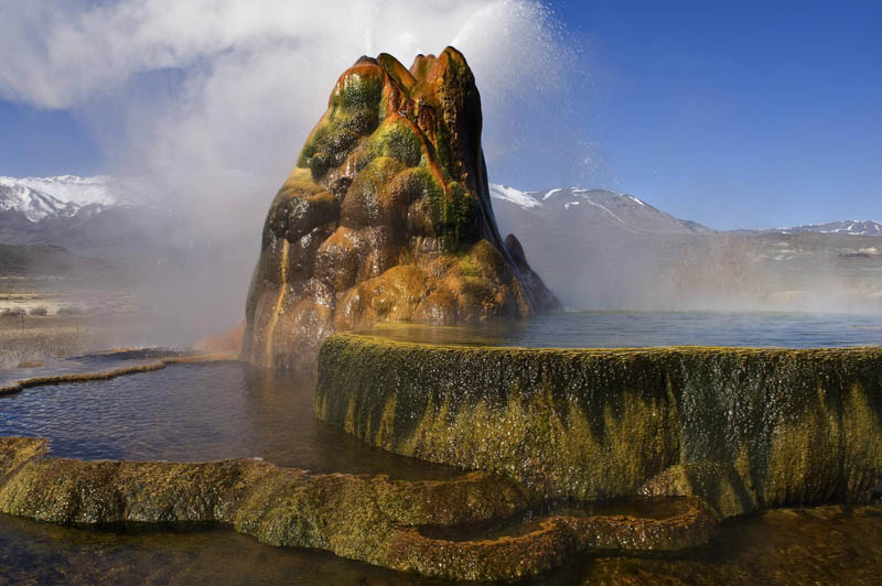 fly geyser black rock desert nevada usa Picture of the Day: The Stunning Fly Geyser [Black Rock Desert, Nevada]