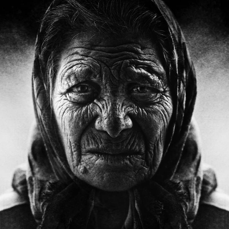 homeless black and white portraits lee jeffries 4 Gripping Black and White Portraits of the Homeless by Lee Jeffries