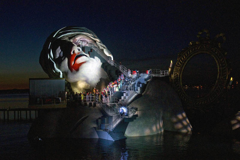 outdoor stage opera on the lake bregenz austria andre chenier 3 The Opera on the Lake Stages of Bregenz