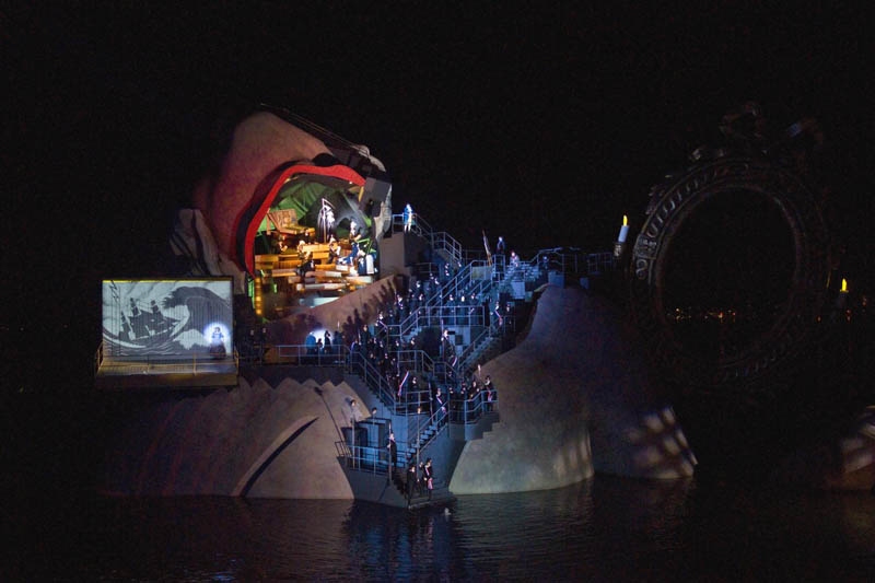 outdoor stage opera on the lake bregenz austria andre chenier 4 The Opera on the Lake Stages of Bregenz