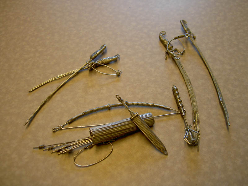 paperclip weapons 3 Amazing Weapons Made from Paperclips