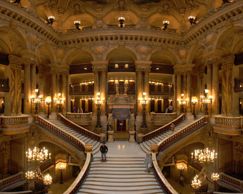 Picture Of The Day The Paris Opera Grand Staircase