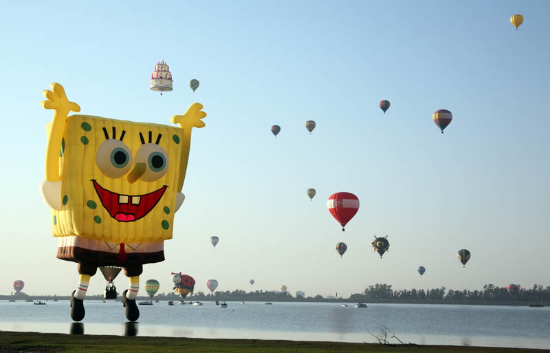 Picture of the Day: SpongeBob SquareBalloon!