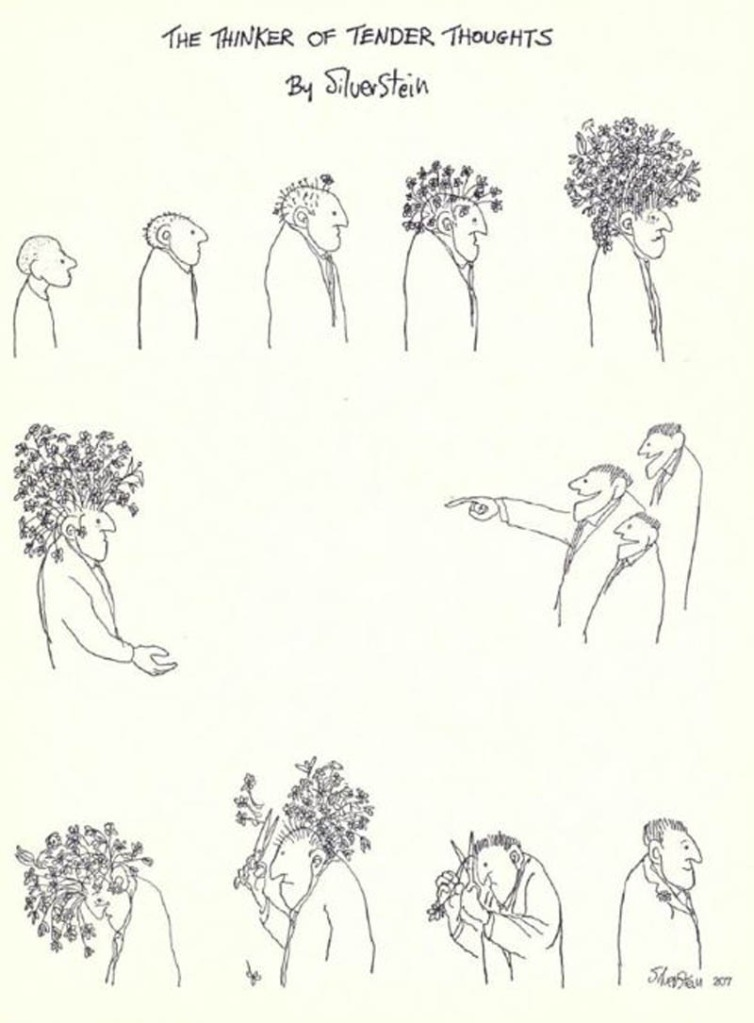 The Thinker of Tender Thoughts [Comic Strip]