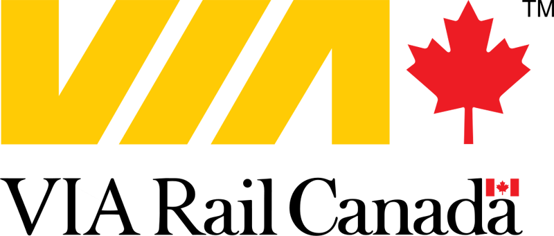 via rail canada logo large 20 Clever Logos with Hidden Symbolism