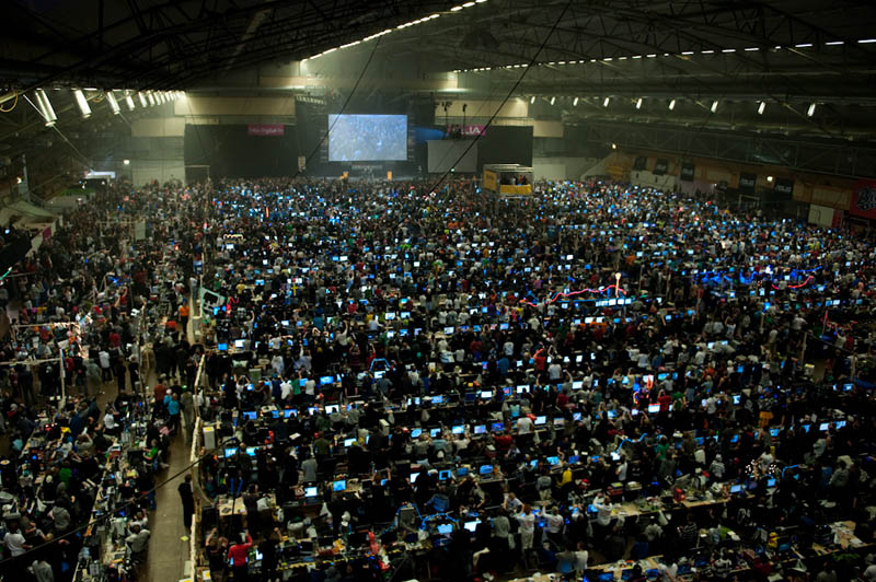 worlds biggest lan party Picture of the Day: The Worlds Largest LAN Party