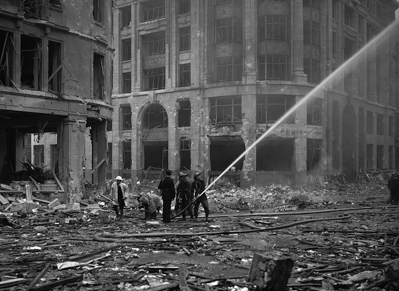 battle of britain damage This Day In History   September 7th