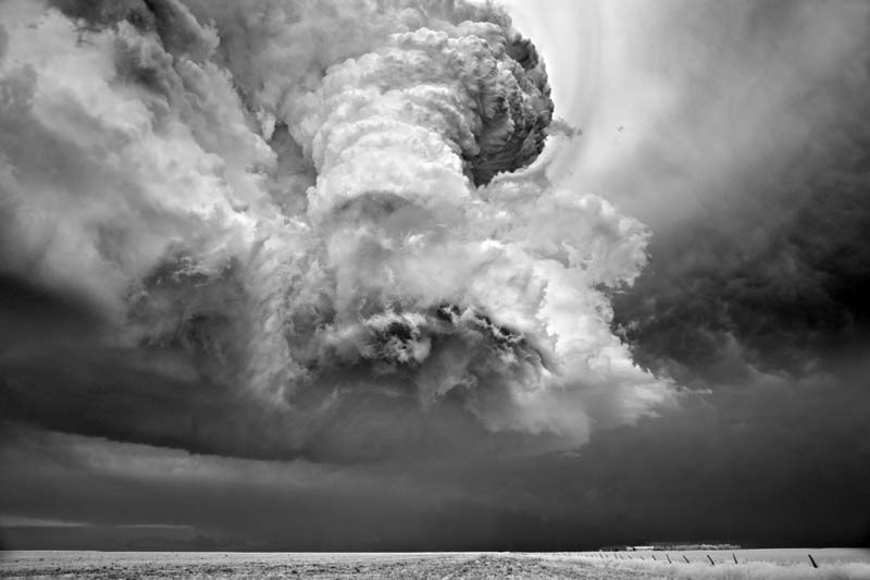 black and white storm photography mitch dobrowner 1 Incredible Black and White Storm Photography by Mitch Dobrowner