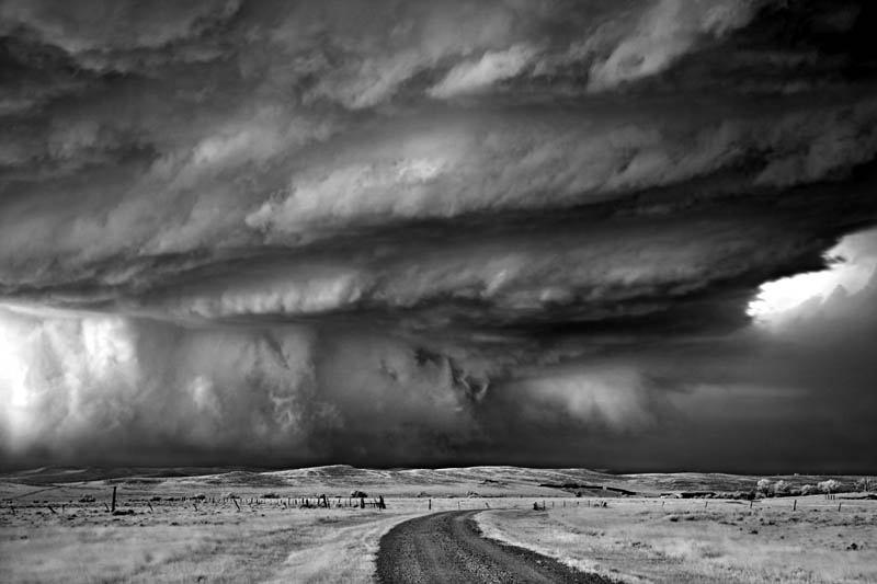 black and white storm photography mitch dobrowner 2 Incredible Black and White Storm Photography by Mitch Dobrowner