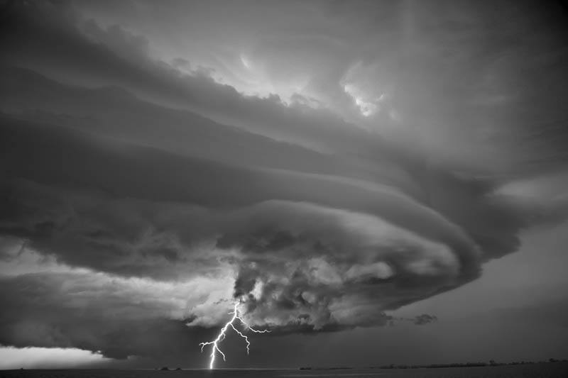 black and white storm photography mitch dobrowner 4 Incredible Black and White Storm Photography by Mitch Dobrowner