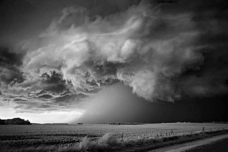 black and white storm photography mitch dobrowner 7 Incredible Black and White Storm Photography by Mitch Dobrowner
