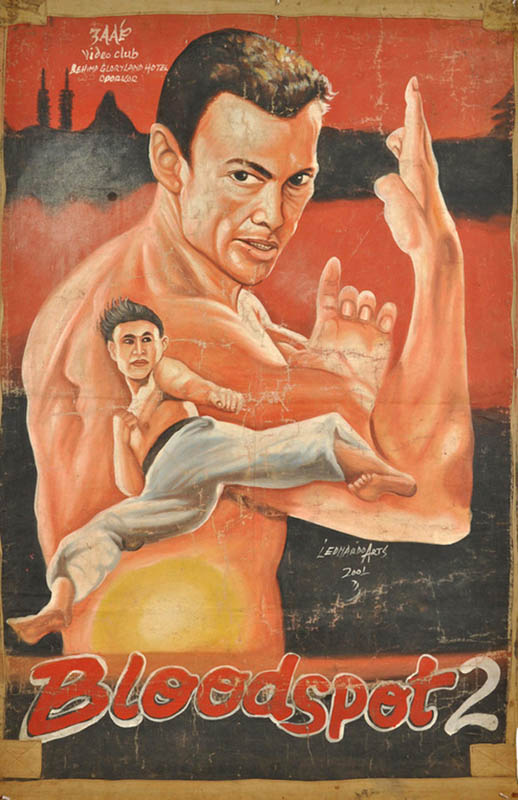 bloodsport 2 Bootleg Movie Posters from Ghana