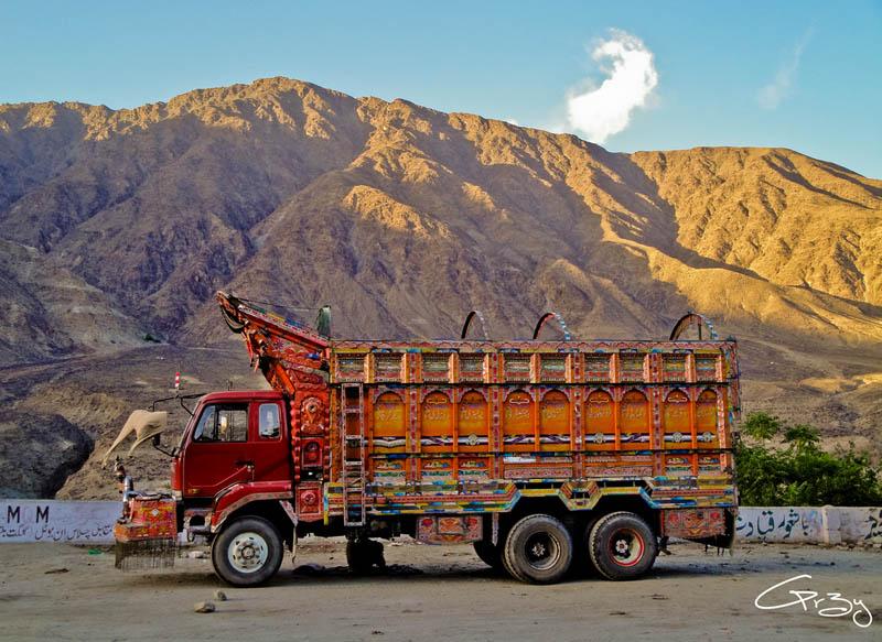 decorative pakistan truck art 11 Decorative Truck Art from Pakistan