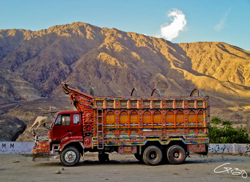 decorative pakistan truck art 11 Decorative Truck Art from Pakistan