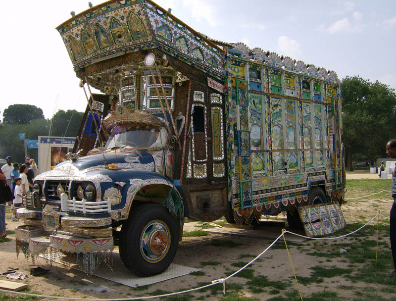 decorative pakistan truck art 2 Decorative Truck Art from Pakistan