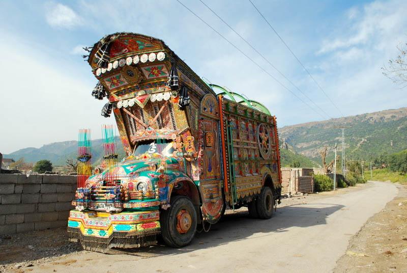 decorative pakistan truck art 3 Decorative Truck Art from Pakistan
