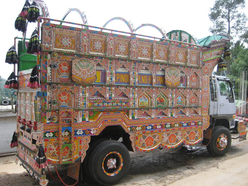 decorative pakistan truck art 6 Decorative Truck Art from Pakistan