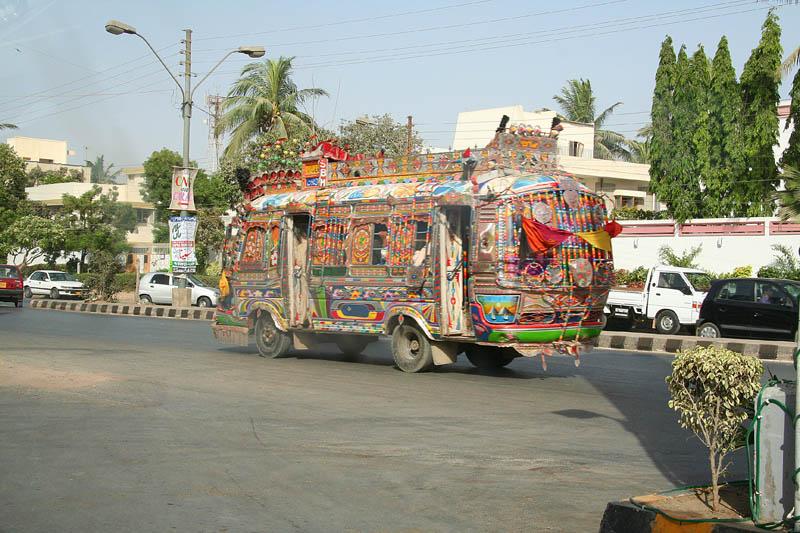 decorative pakistan truck art 8 Decorative Truck Art from Pakistan