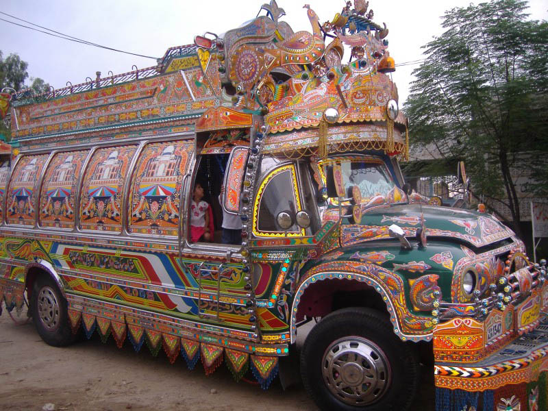 decorative pakistan truck art 9 Decorative Truck Art from Pakistan