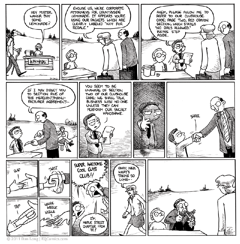 The Lemonade Stand [Comic Strip]