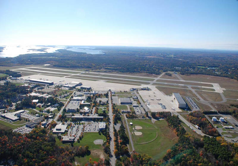 nas brunswick maine aerial view 2009 16 U.S. Air Force Bases and Naval Stations From Above