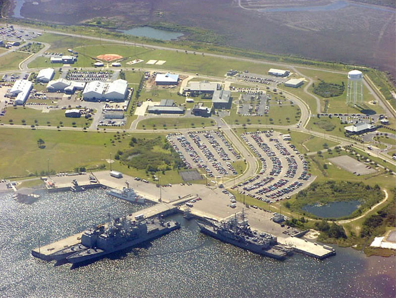16 us air force bases and naval stations from above twistedsifter naval station pascagoula 16 us air force bases and naval stations from above sciox Images