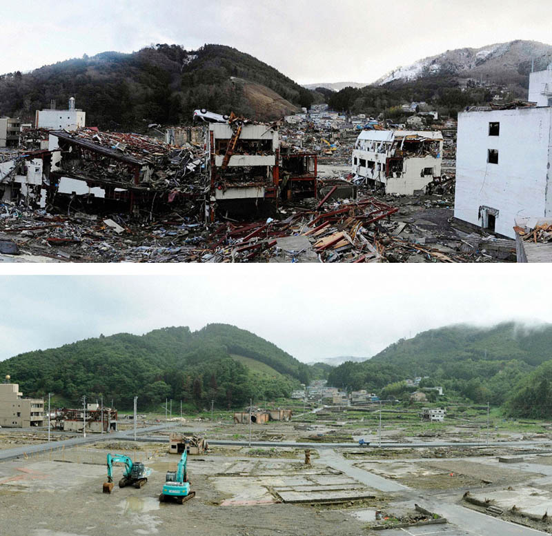 Picture of the Day: Onagawa, Japan Six Months Later